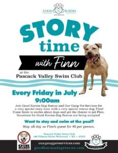 Story Time With Finn @ Our Gang Pet Services, LLC | River Vale | New Jersey | United States